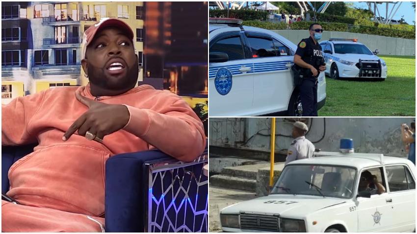 El Micha asegura que le tiene más miedo a la policía en Estados Unidos que en Cuba