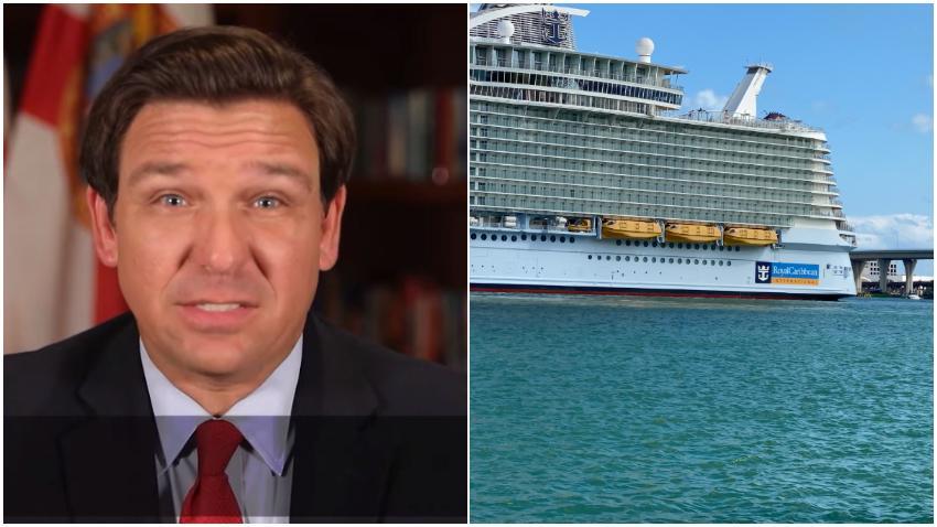 Gobernador de Florida demanda al gobierno federal por la orden de no navegar de los cruceros