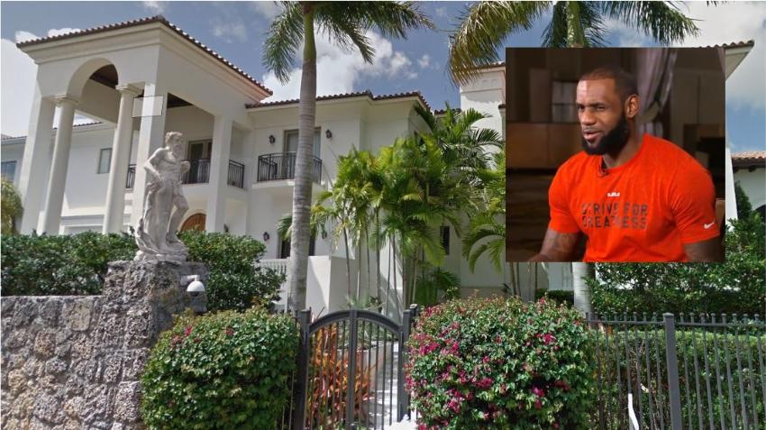 Antigua casa de LeBron James en Miami se vende por 12.5 millones de dólares