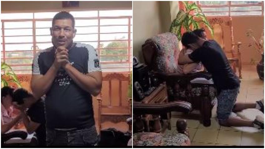 Limay Blanco con la ayuda de donaciones le compra una casa a una familia cubana con cuatro niños