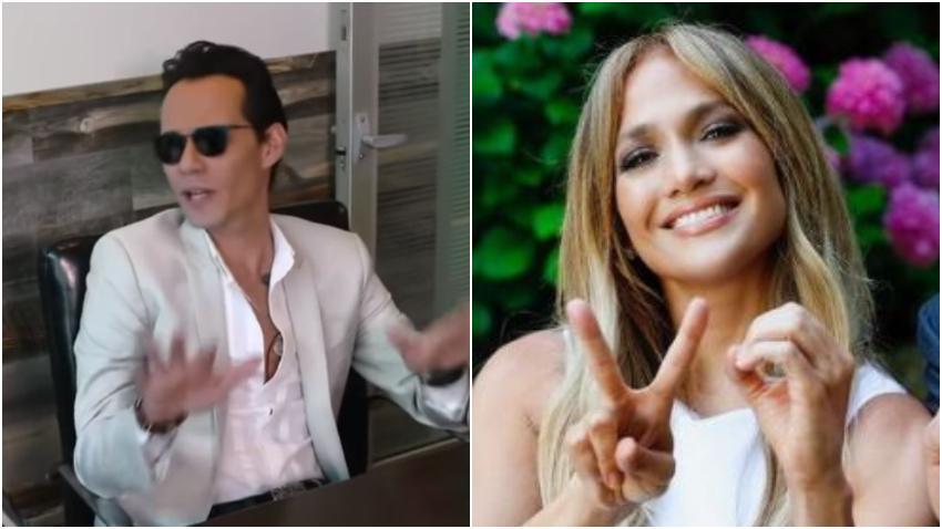 Marc Anthony ha ayudado a Jennifer López a pasar el mal rato de su separación con Alex Rodríguez según People