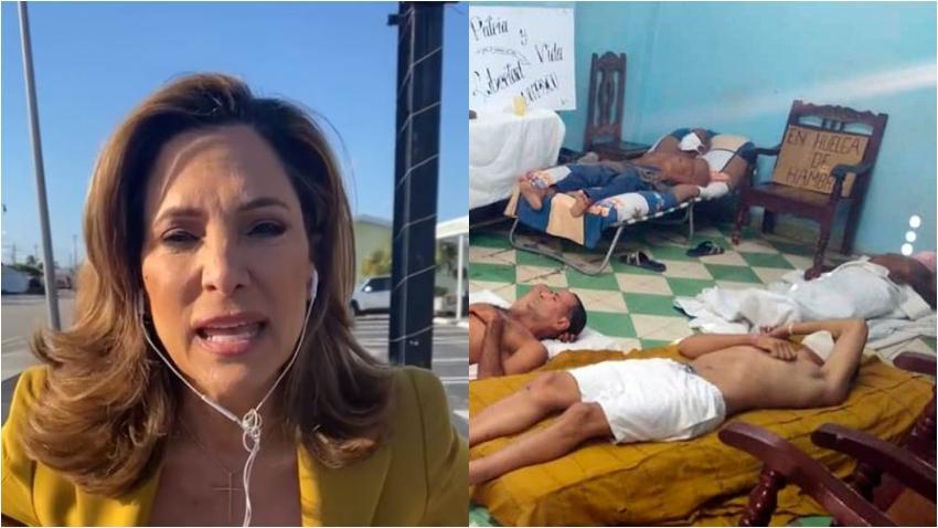 Congresista cubanoamericana María Elvira Salazar se solidariza con los huelguistas de UNPACU en Cuba