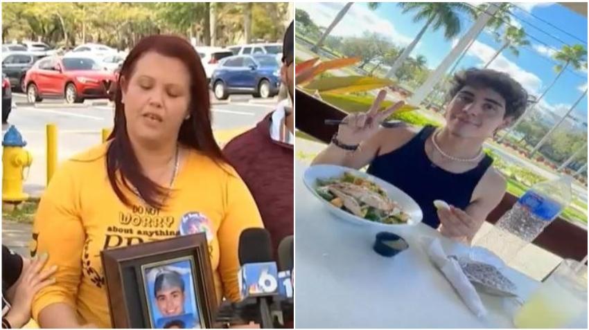 Madre de joven atropellado en Orlando pide ayuda para dar con el paradero del asesino de su hijo