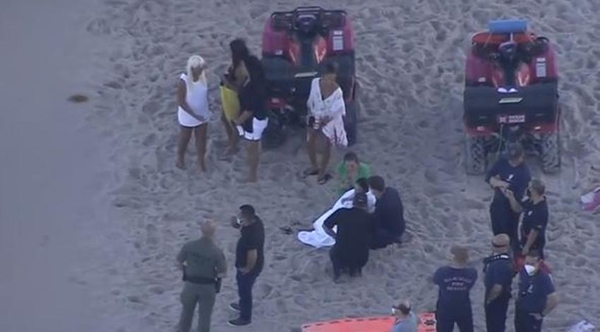 Un hombre murió y otro está desaparecido debido a las fuertes corrientes en Miami Beach