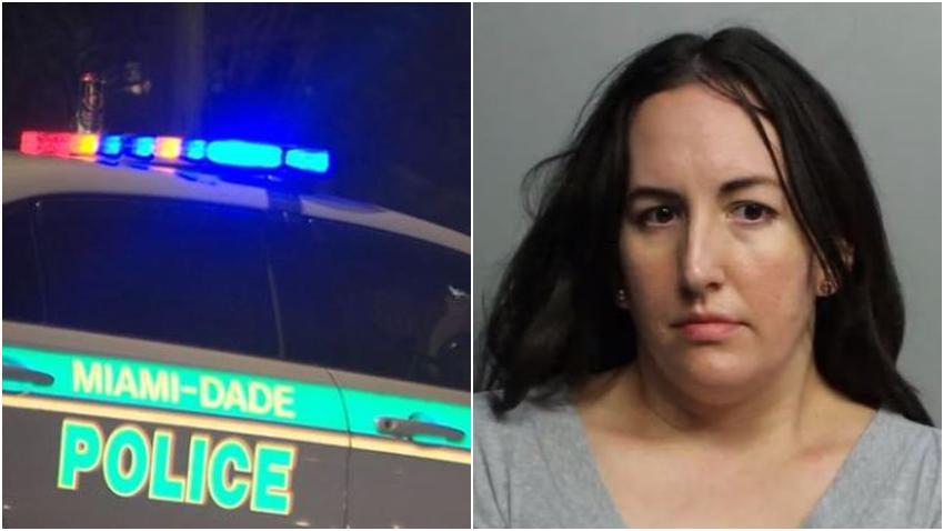Arrestan a una madre en Miami que mientras estaba borracha golpeó a su esposo y a su hijo