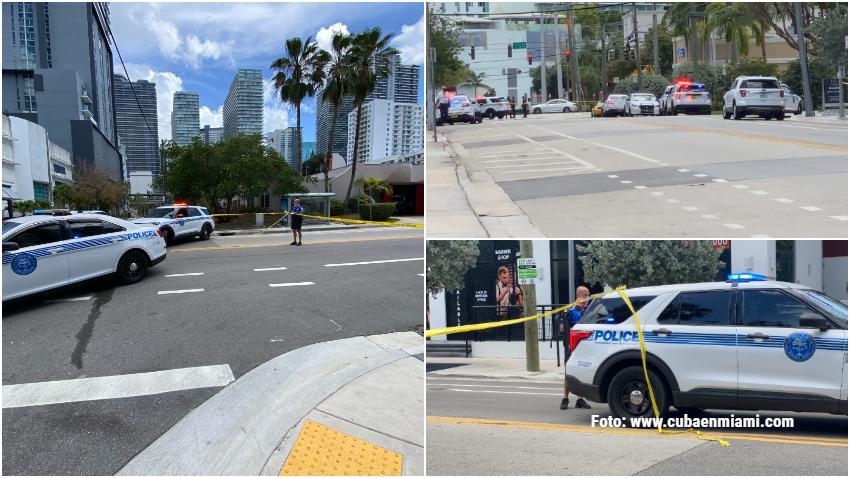 Mujer muere a tiros por la policía de Miami que cumplía orden de desalojo en el área Brickell