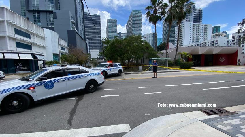 Policía de Miami involucrada en tiroteo en el área de Brickell