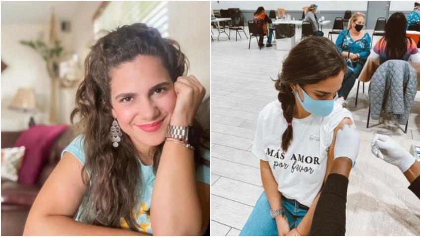 """Actriz cubana Rachel Cruz se pone la vacuna: """"Si hay una solución: ¡Yo quiero ser parte de ella!"""""""