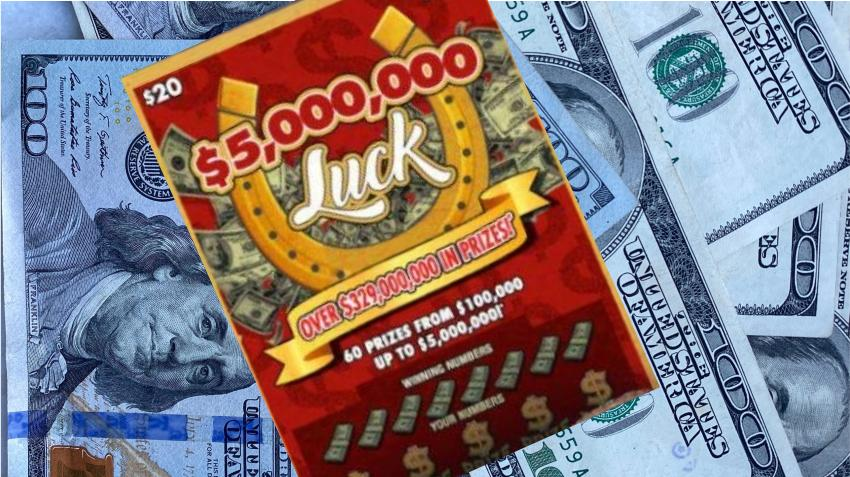 Hombre de Miami gana 5 millones de dólares en juego de raspadito de la lotería de Florida