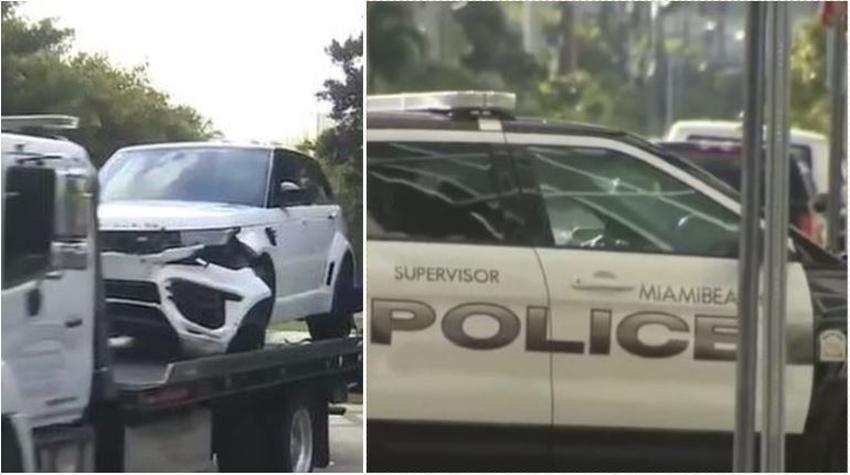 Cuatro ladrones irrumpen en una mansión en Miami Beach a robar cuatros autos de lujos