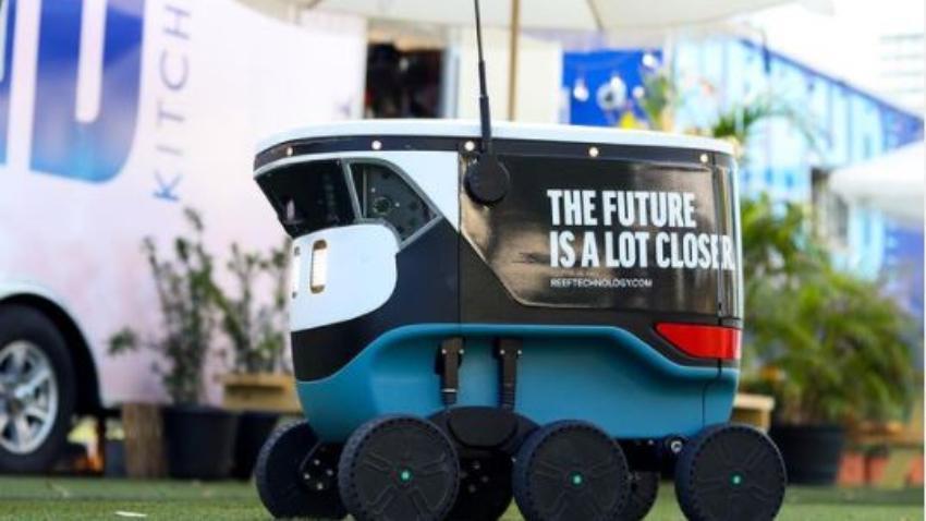 Entregas de comida mediante robots llega al Downtown de Miami