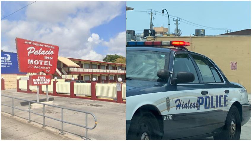 Dos personas reciben disparos en un motel de Hialeah