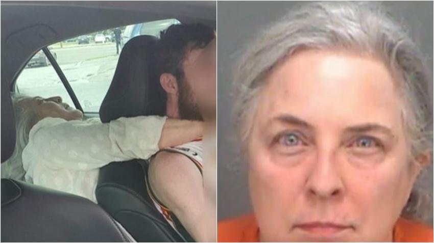 Mujer de Florida es arrestada por intentar estrangular y por morder a conductor de Uber