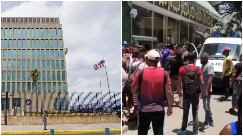 Administración Biden condena la represión contra los cubanos en Cuba