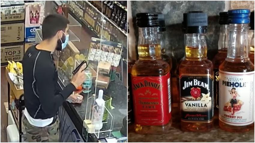 Arrestado un cubano en Hialeah tras robar a punta de pistola una pequeña botella de whiskey