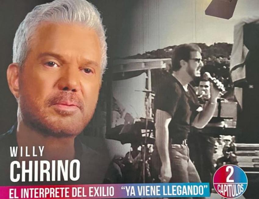 Leyendas del exilio dedicará 2 capítulos al cubano Willy Chirino