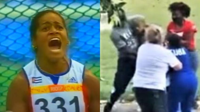 Yipsi Moreno, excampeona olímpica y comisionada de atletismo en Cuba agrede a joven atleta y a su familia