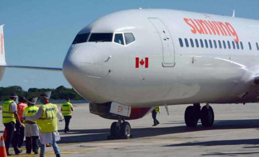 En diciembre la aerolínea Sunwing retomará sus vuelos desde Canadá con destino a Varadero y a Cayo Santa María, todas las semanas