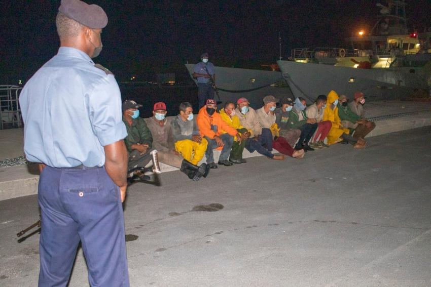 Autoridades en Bahamas interceptan grupo de balseros cubanos