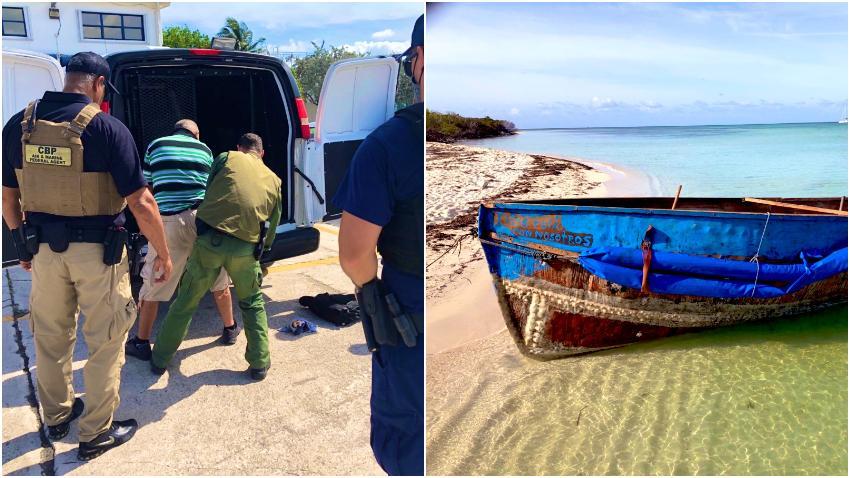 Patrulla Fronteriza de Estados Unidos detiene a 24 balseros cubanos que llegaron a las costas de la Florida
