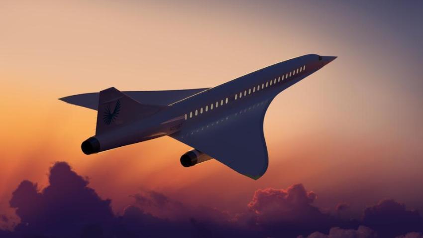 Empresa estadounidense quiere crear aviones supersónicos que vuelen a cualquier parte del mundo en menos de 4 horas por tan solo $100 dólares