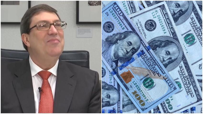 Bruno Rodríguez de manera cínica agradece a los cubanos en el exterior que envían remesas a sus familiares