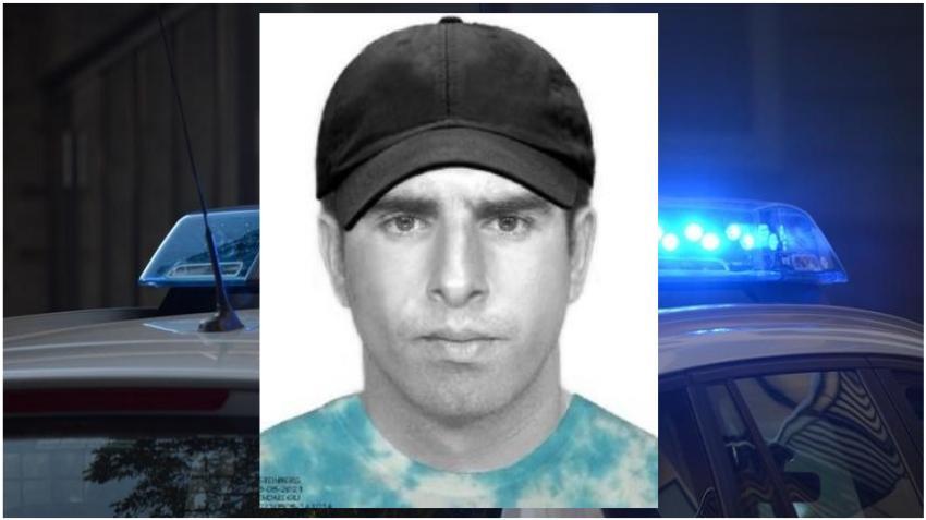 Publican retrato hablado de hombre que atacó a una mujer que corría por la calle en vecindario de Kendall
