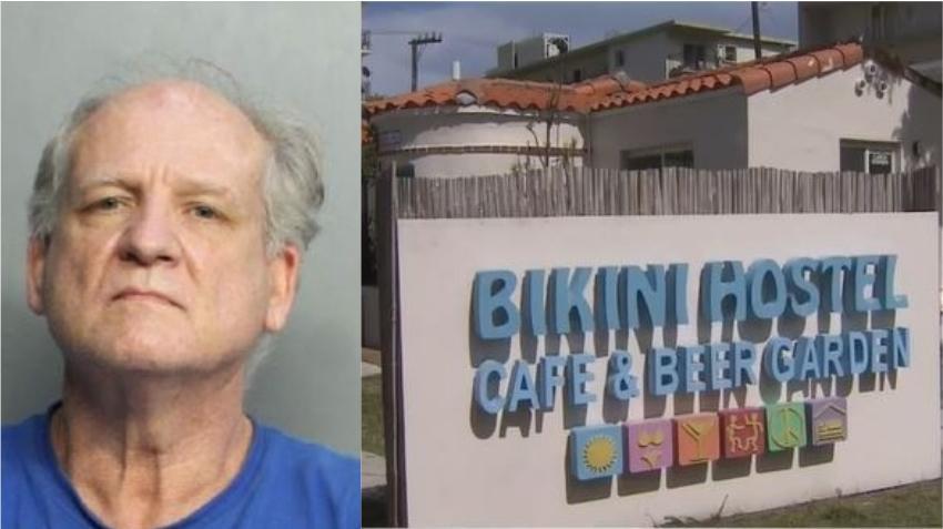 Arrestado un hombre de Alabama por violar a una turista en un hospedaje en Miami Beach