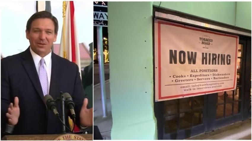 Los residentes en Florida ahora deben solicitar al menos 5 trabajos por semana para recibir beneficios de desempleo
