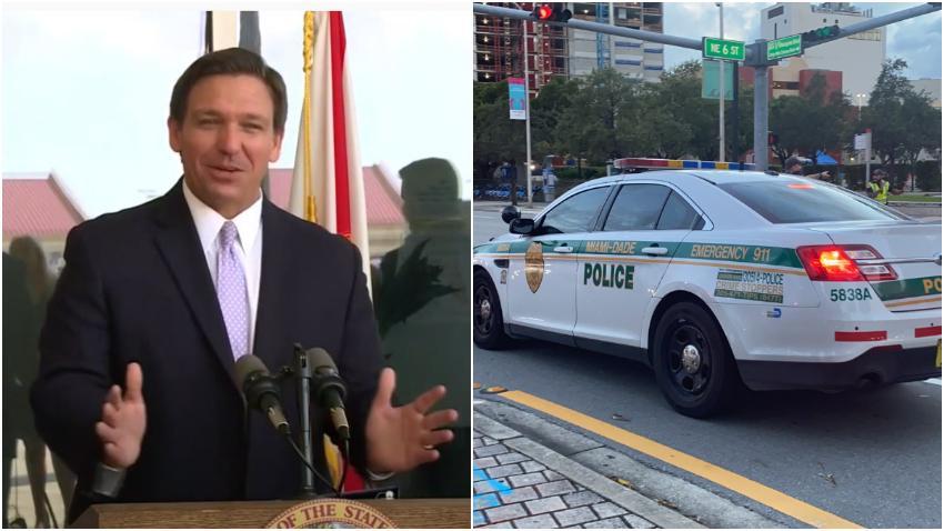 Gobernador DeSantis anuncia bonos de $ 1,000 para la policía y socorristas de Florida por su trabajo