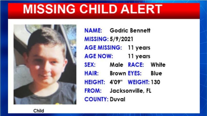 Buscan a niño de 11 años de Jacksonville que desapareció luego de una discusión con un familiar