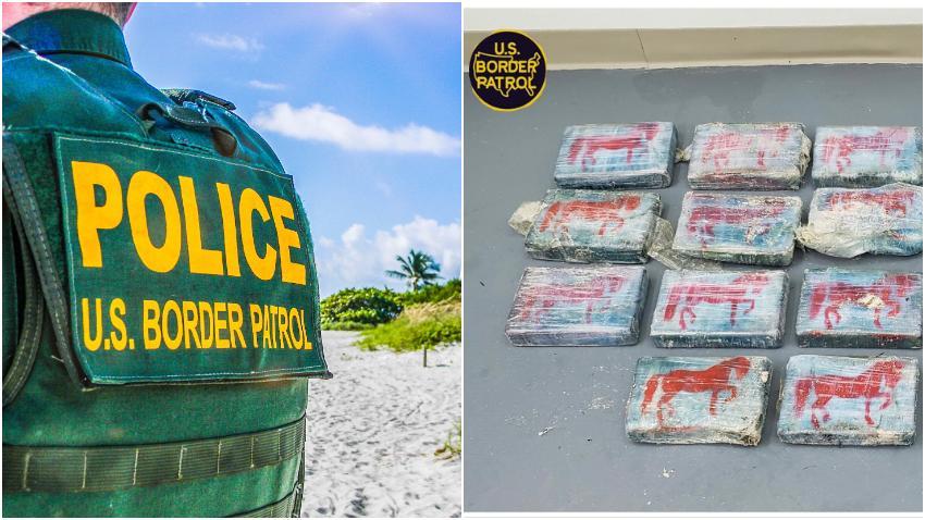 Encuentran en la costa de los Cayos de la Florida cocaína valorada en 1.4 millones de dólares