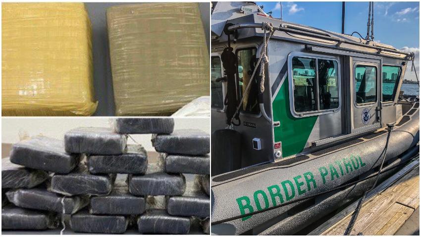 Personas de fiesta en un bote en los Cayos de la Florida encuentran drogas por valor de 1.8 millones de dólares en el agua