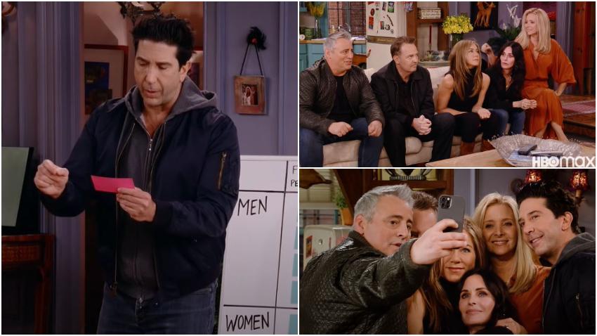 Fanáticos de la serie Friends ansiosos ante la emisión del regreso de los amigos en 'Friends: The Reunion'