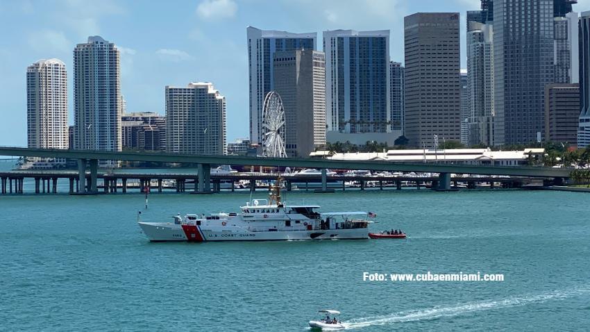 La Guardia Costera de Estados Unidos ha interceptado a 239 cubanos intentando llegar a las costas de la Florida en este año
