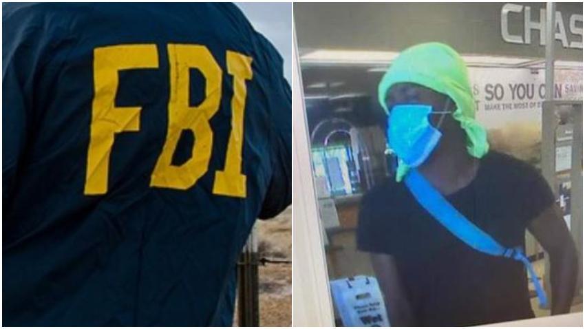 El FBI busca hombre que robó el banco en el Sur de la Florida a plena luz del día