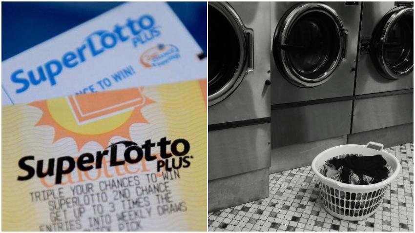 Mujer dice que un billete de lotería por valor de $ 26 millones de dólares fue destruido en la lavadora