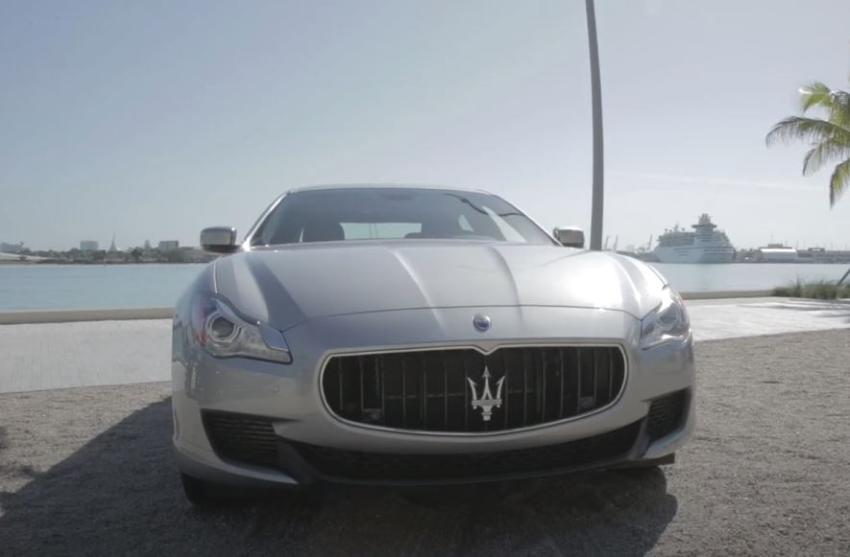Arrestan al conductor de un Maserati en Miami que atropelló a un ciclista y se dio a la fuga