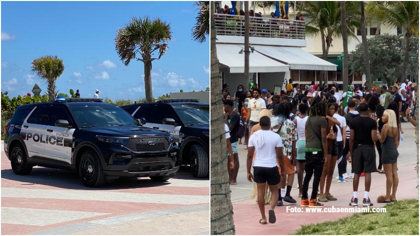 Miami Beach anuncia medidas para mantener el orden durante el fin de semana de Memorial Day