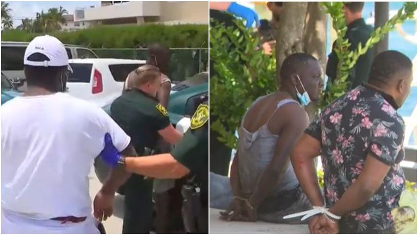 Detienen a 11 inmigrantes que llegaron a la costa en el Sur de la Florida
