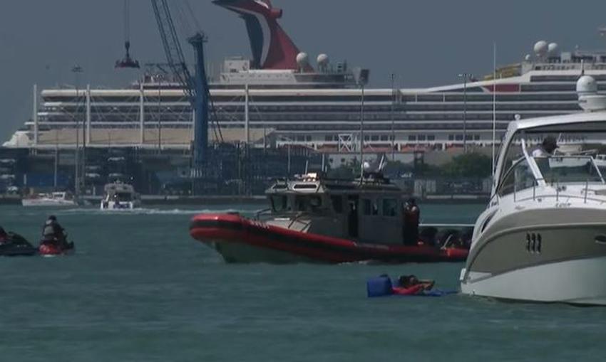 Hombre en una moto acuática en Miami muere tras ser golpeado por un bote que se dió a la fuga
