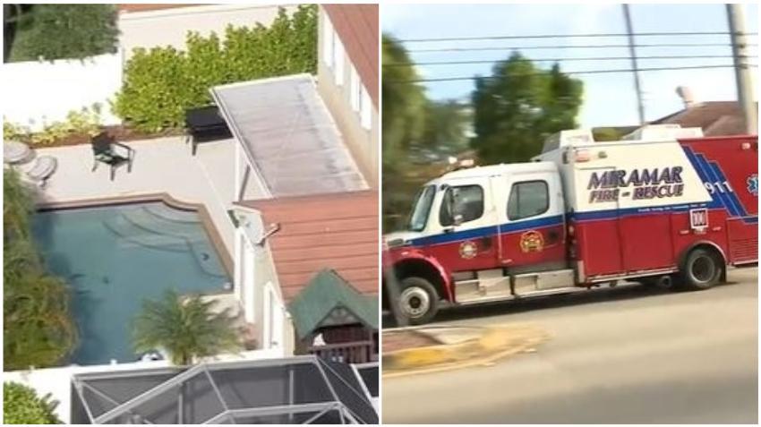 Niña de 4 años hospitalizada tras ahogarse en la piscina de una casa