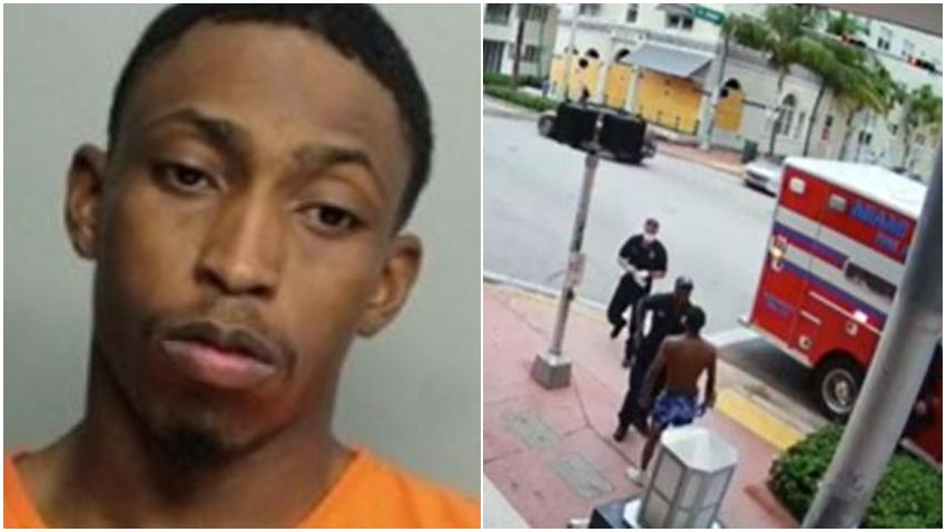 Hombre de Nueva York arrestado en Miami Beach después de fajarse con un bombero que fue a ayudarlo