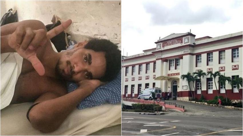 Luis Manuel Otero se encuentra en el Hospital Calixto García, según Dirección Provincial de Salud La Habana