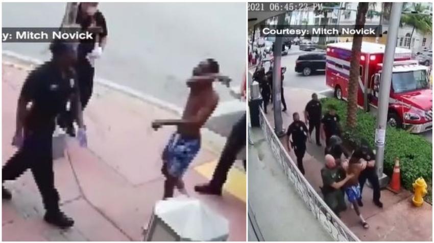 Turista de Nueva York arrestado tras altercado con paramédicos en Miami Beach