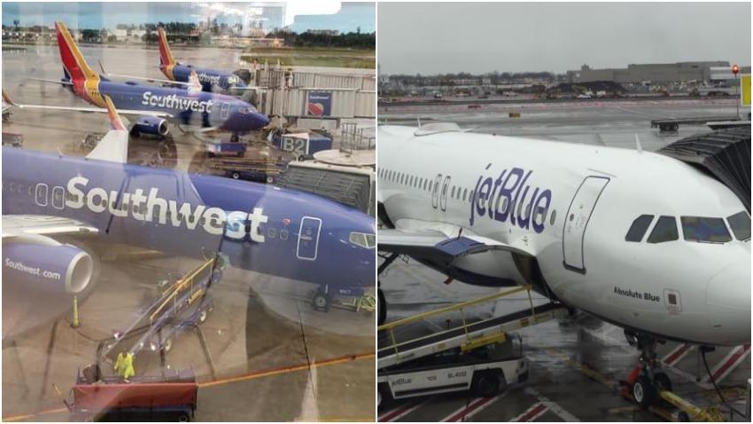 Southwest y Jetblue mantendrán un vuelo semanal a Cuba desde Tampa y Fort Lauderdale debido a las restricciones de la isla