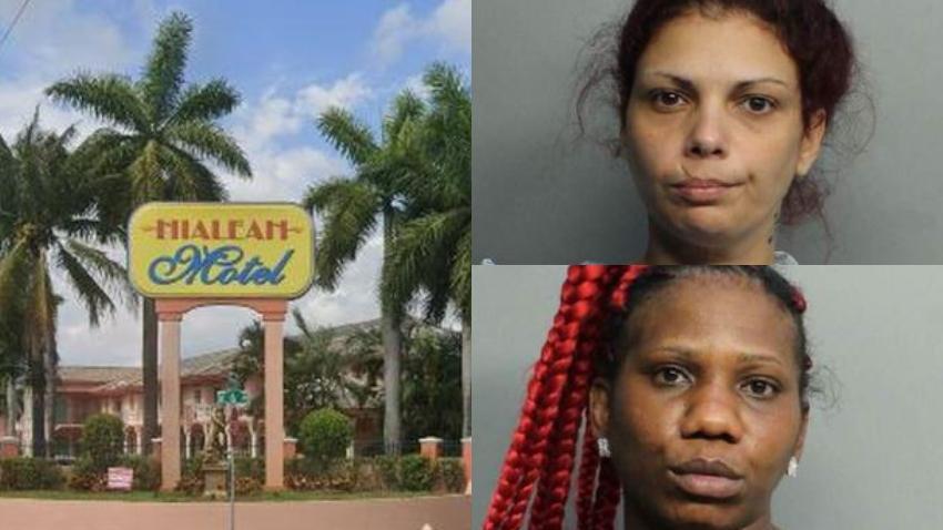 Dos mujeres arrestadas en relación con tiroteo en motel de Hialeah que terminó con un traficante de drogas muerto