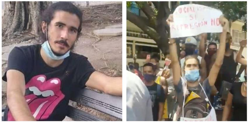 Estudiante que participó en la protesta de Obispo no será expulsado de la Universidad de La Habana, pero está bajo investigación y recluido en su domicilio