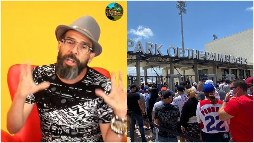 Presentador cubano Alex Otaola asegura que su equipo legal estudia una posible demanda contra el estadio de béisbol en West Palm Beach