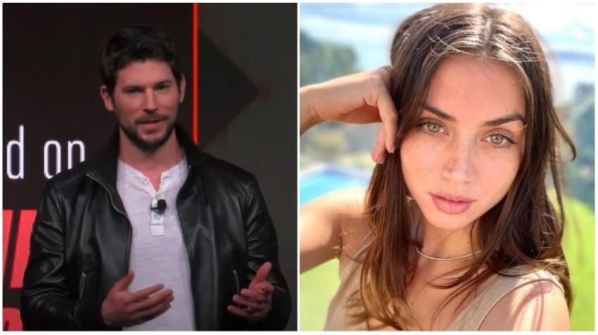 Circulan rumores de que la actriz cubana Ana de Armas encontró un nuevo amor: el vicepresidente de Tinder, Paul Boukadakis
